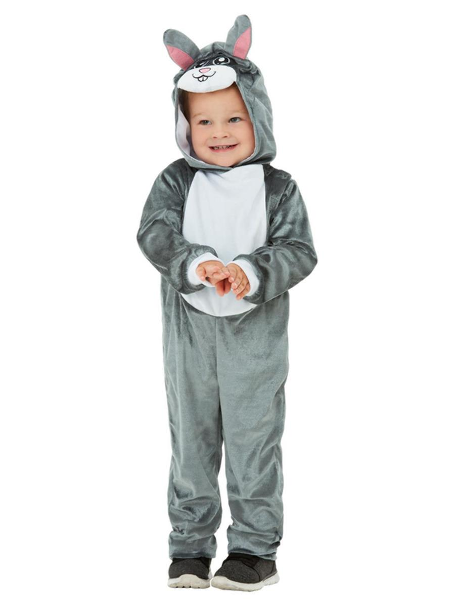 Kids Toddler Bunny Costume Grey