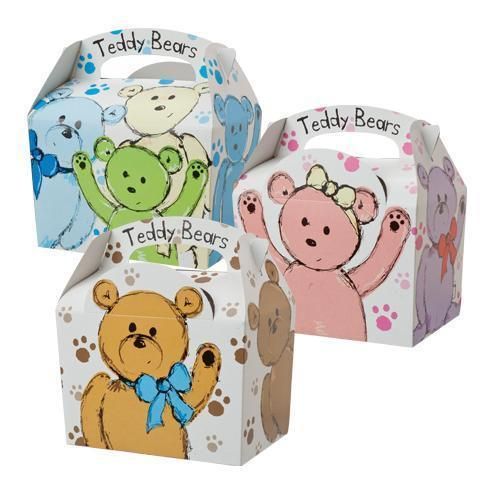 Party Box Teddy Bears