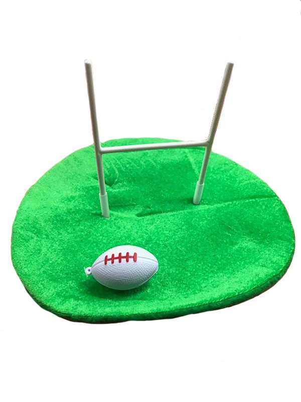 Novelty Rugby Hat Green