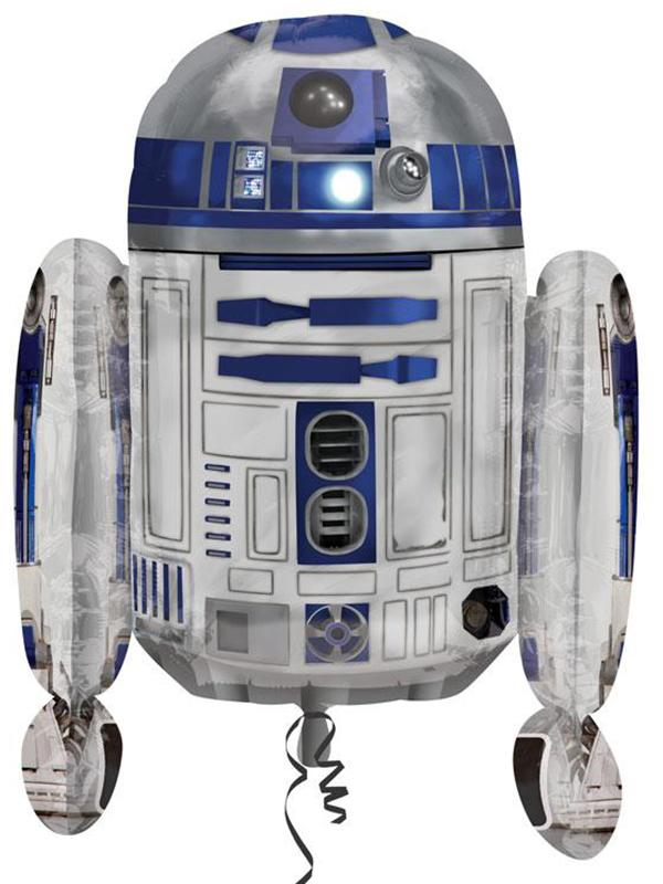 Foil Balloon Star Wars R2-D2 Shape
