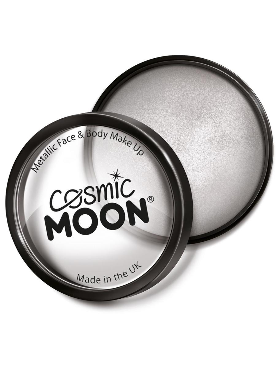 Moon Creations Metallic Pro Face Paint Silver