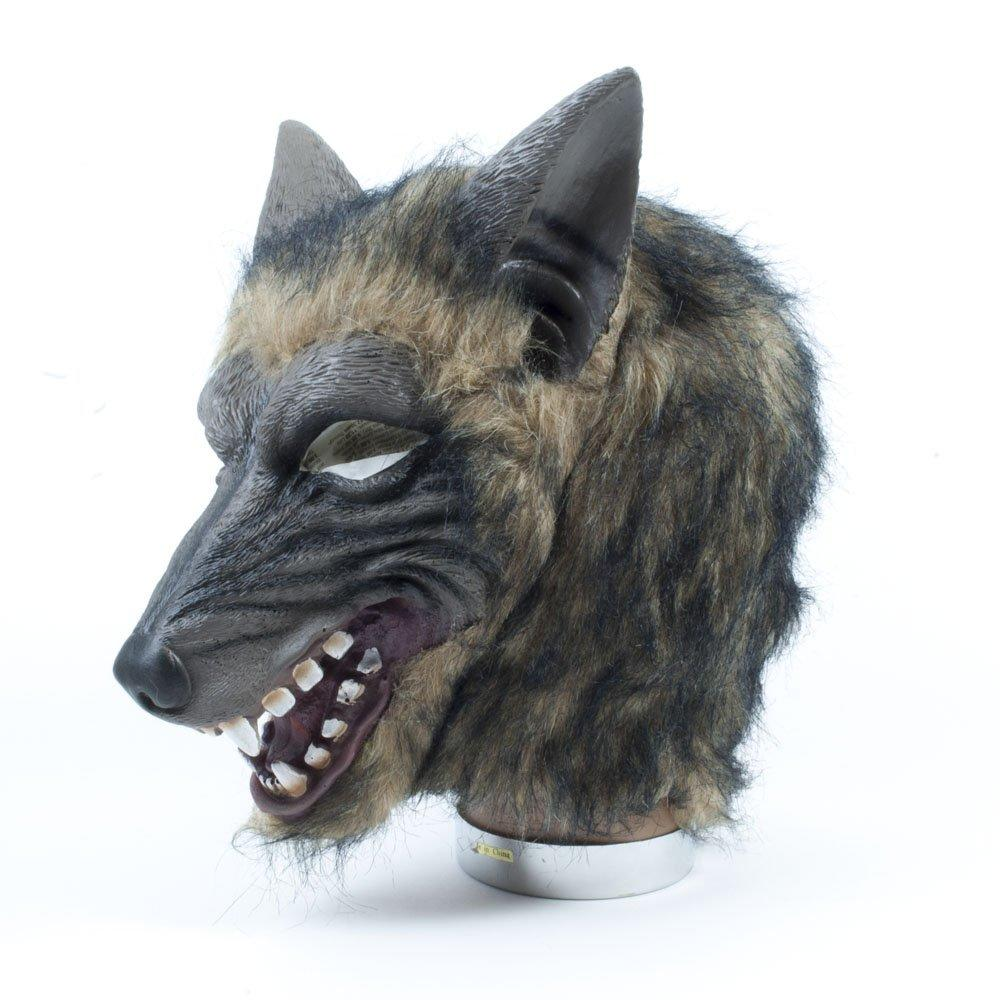 Wolf Mask Brindle Effect