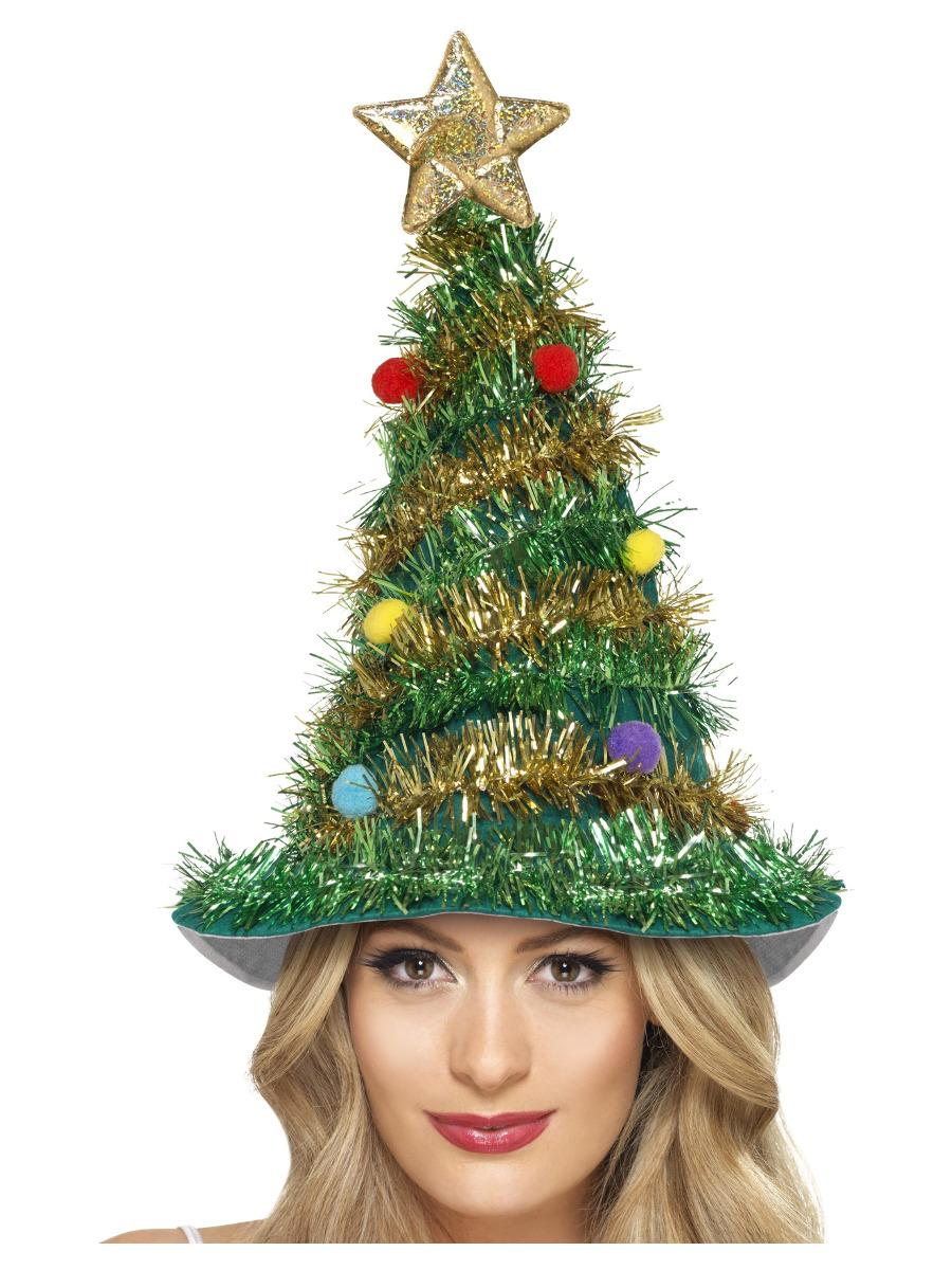 Christmas Tree Hat Green