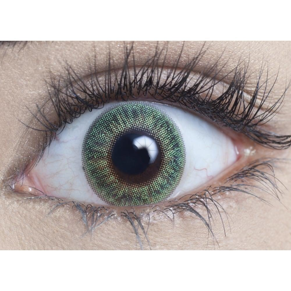 MesmerEyez Blendz Emerald Green Contact Lenses
