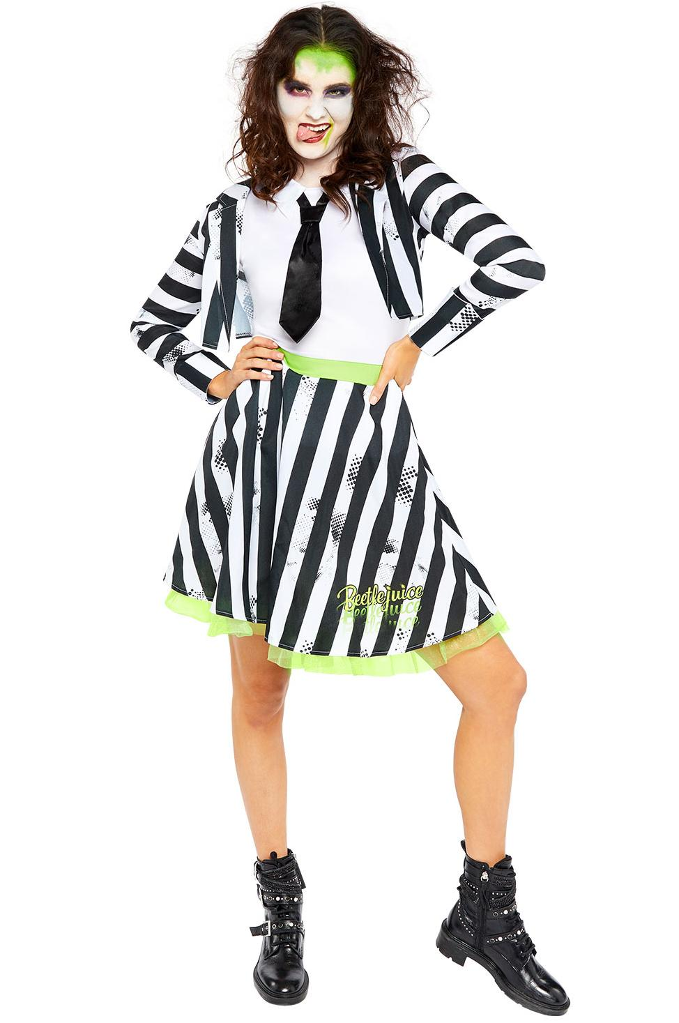 Beetlejuice Adult Dress Costume