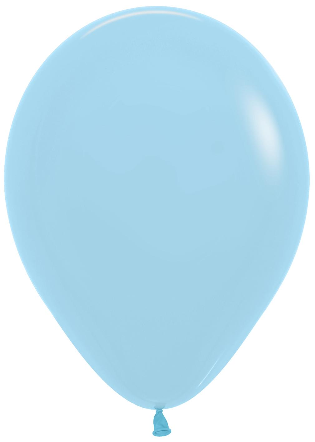 Standard Latex Balloons Pale Blue