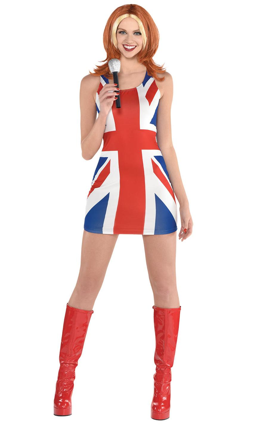Union Jack Pop Group Costume