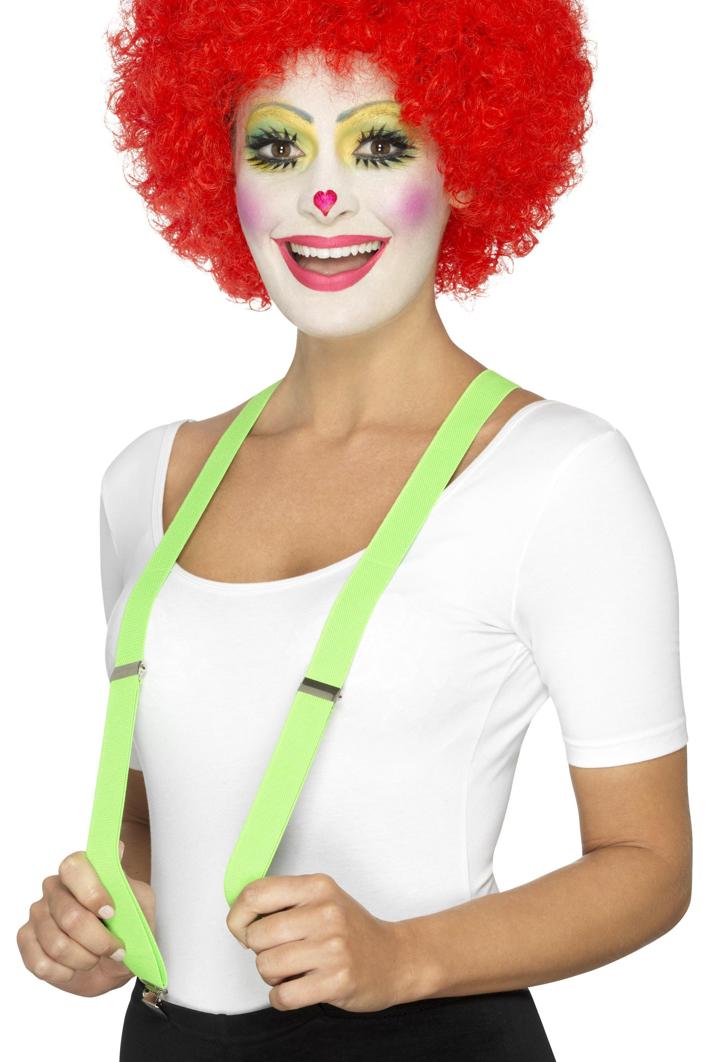 Clown Braces Green