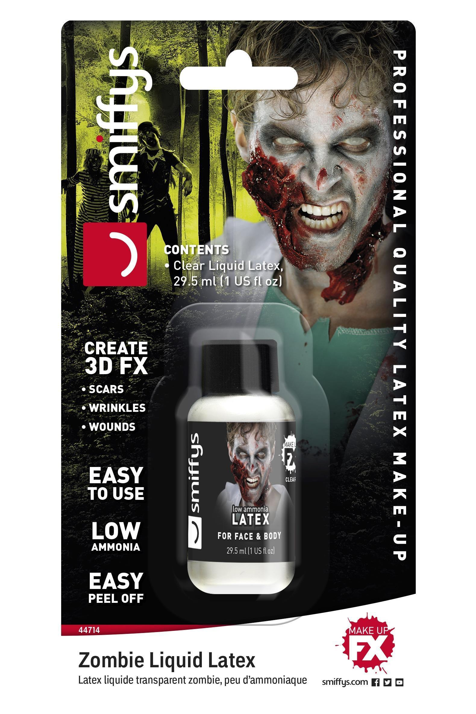 Zombie Liquid Latex Low Ammonia