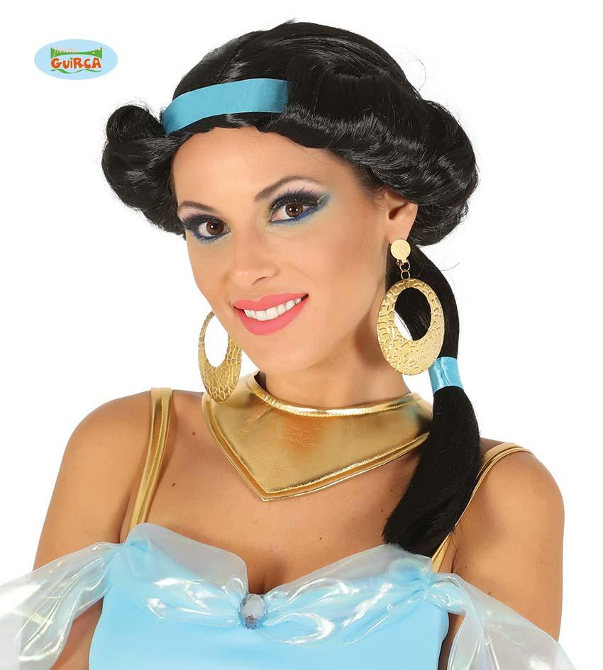 Desert Princess Wig Black