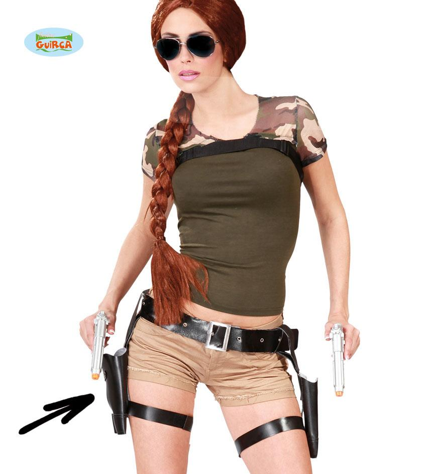 Double Gun & Thigh Holster Set