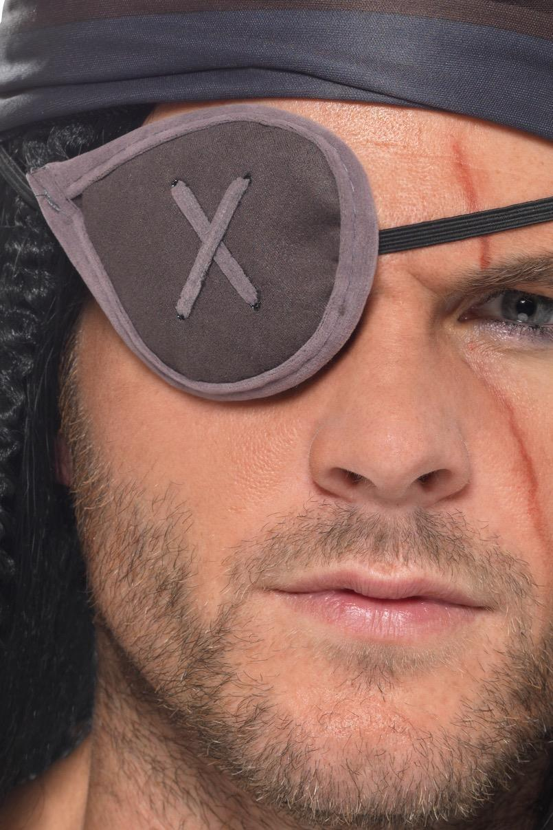 Pirate Eyepatch Grey