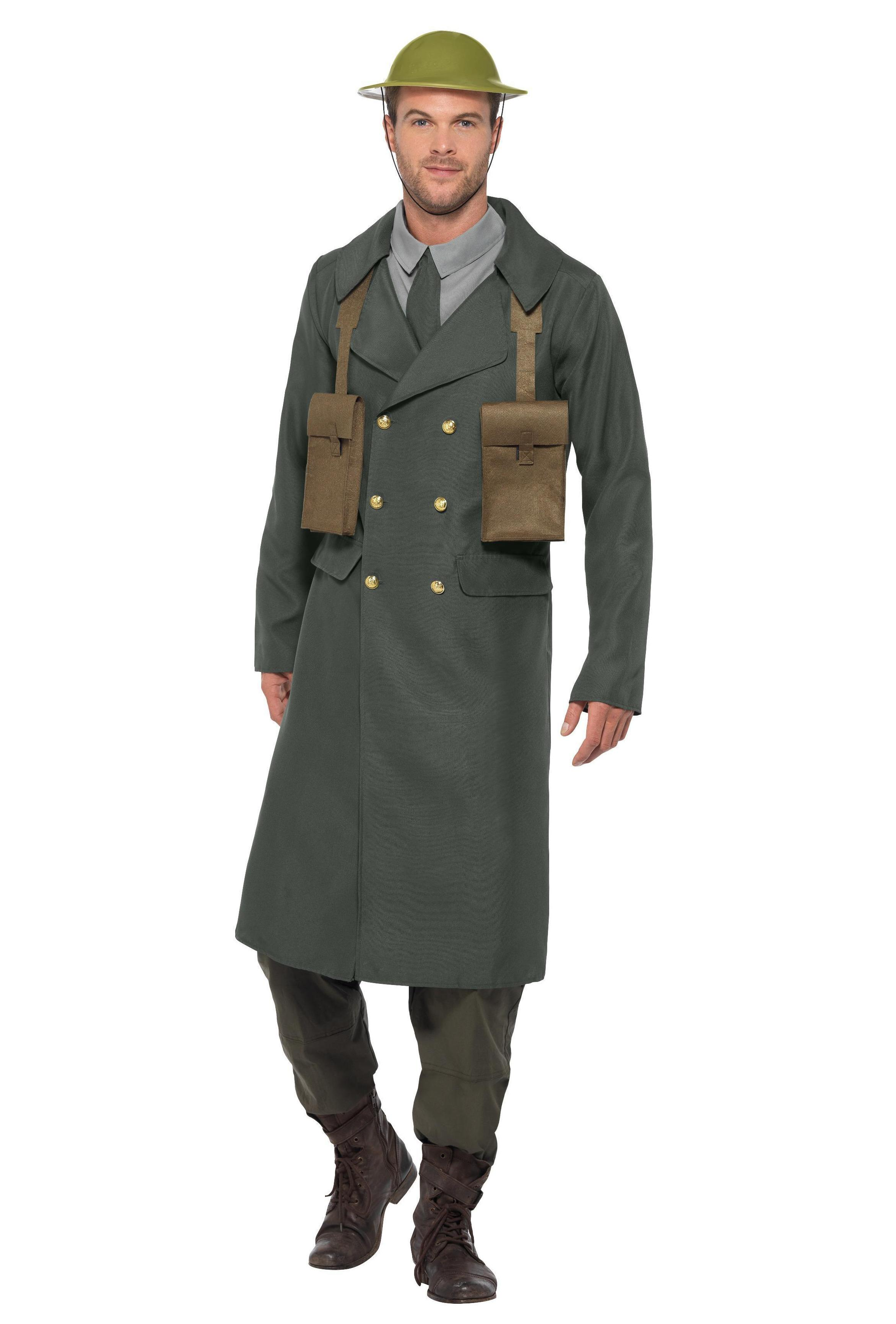 WW2 British Office Costume Green