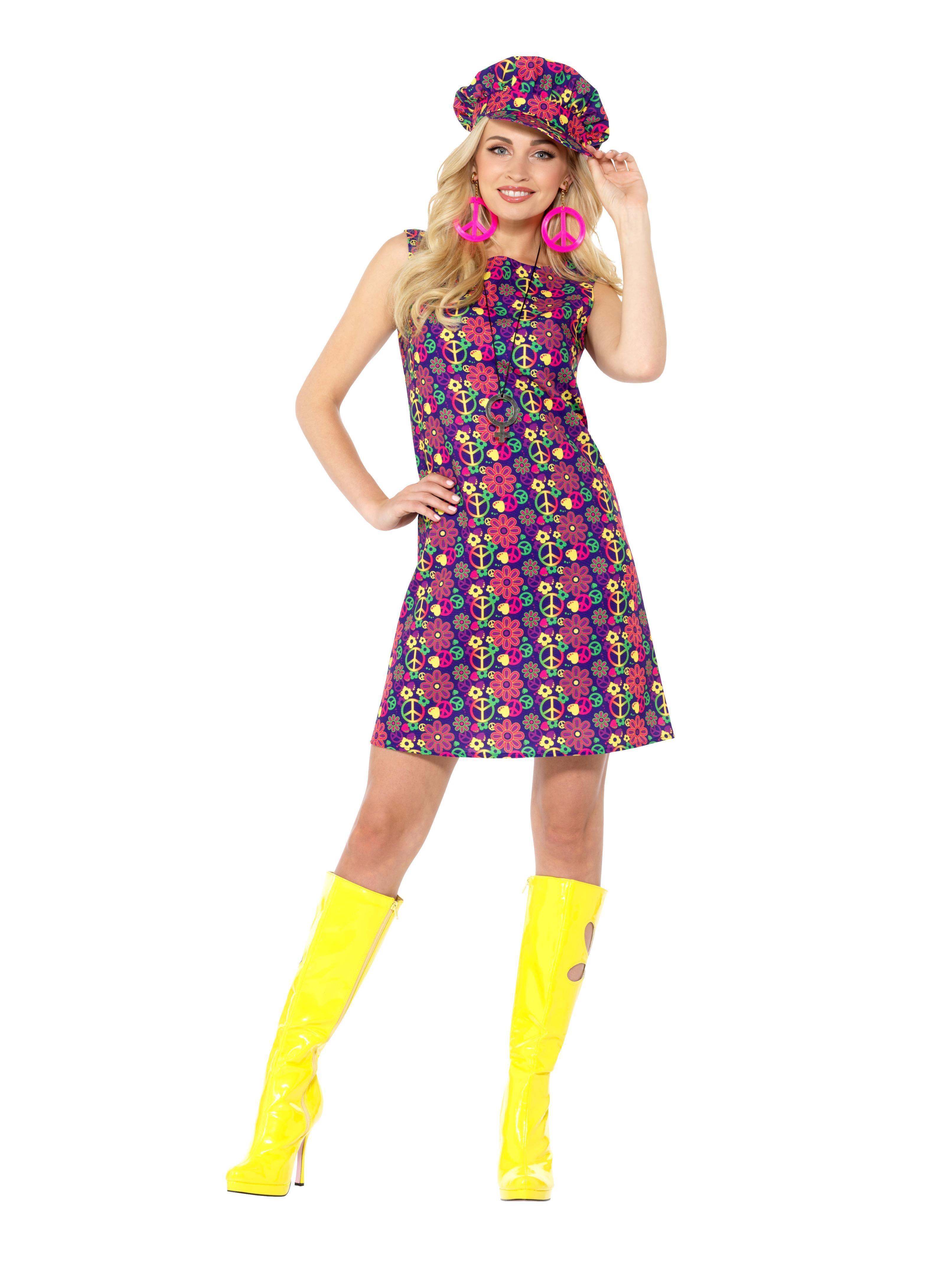 60s Psychedelic CND Costume