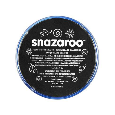 Snazaroo 18ml Face Paint Black