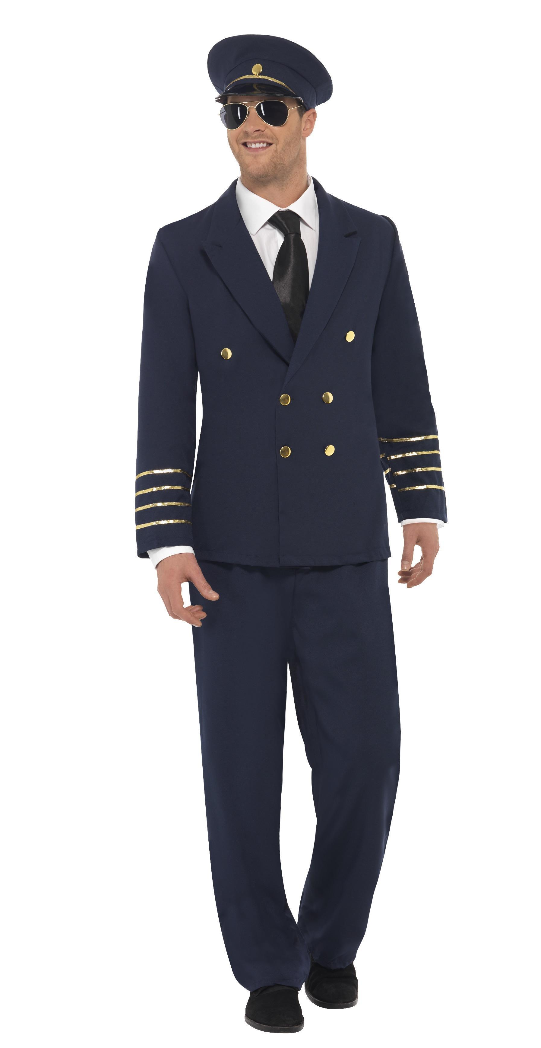 Pilot Costume Navy Blue