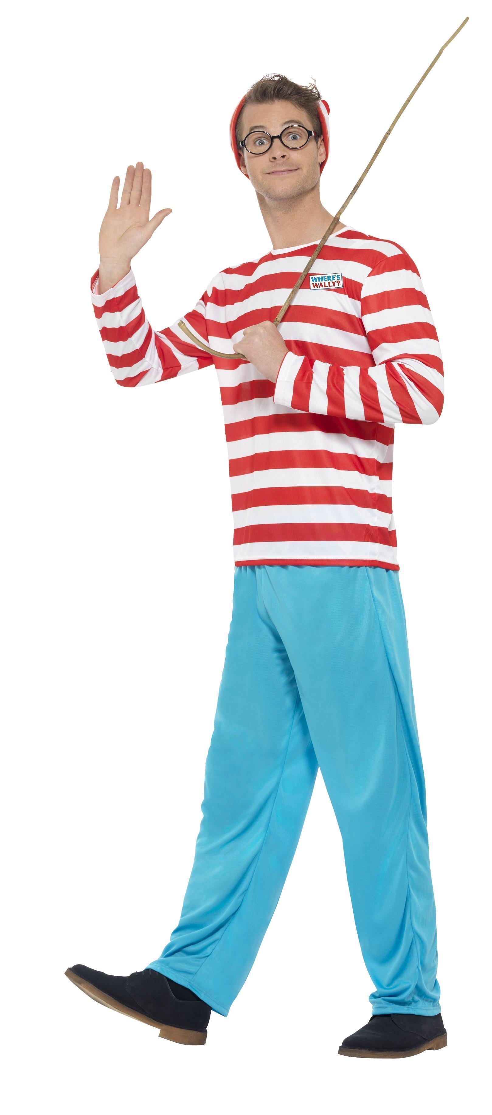 Officially licensed Men's Where's Wally? Costume