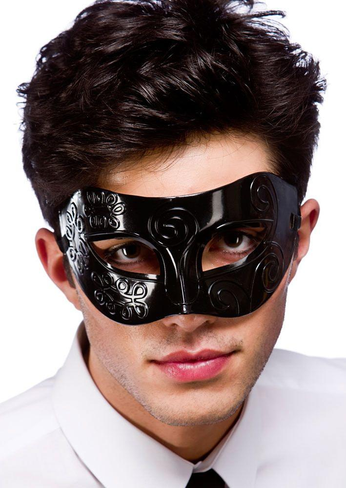Rome Eye Mask Black