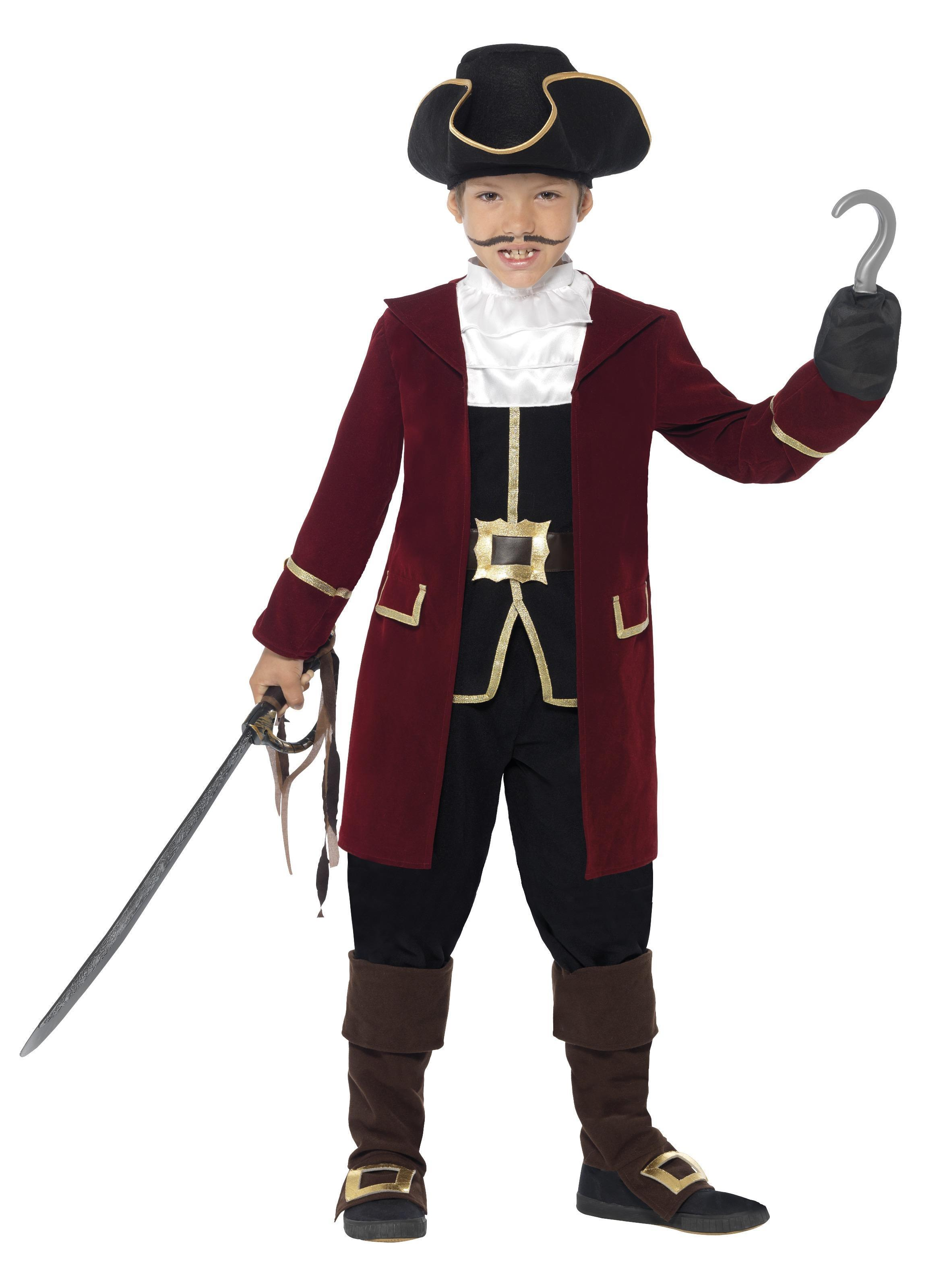 Kids Pirate Captain Costume Deluxe