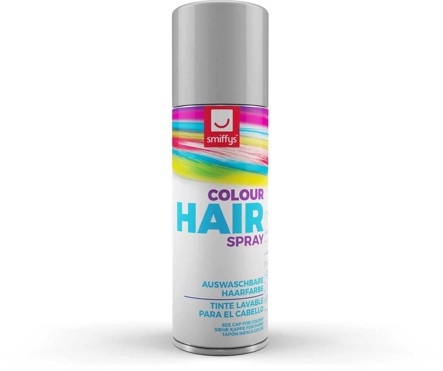 Coloured Hair Spray Silver