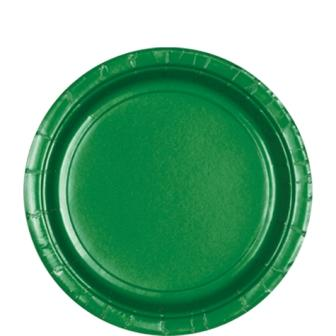 Paper Plates Festive Green 8 Pack