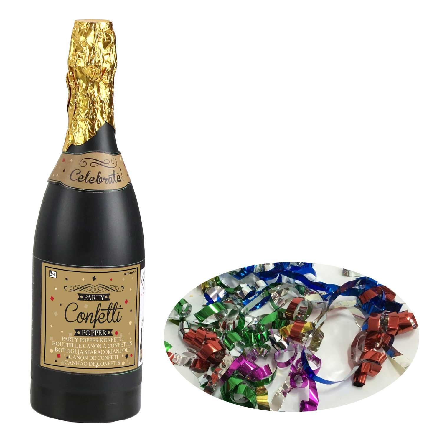 Confetti Cannon Champagne Bottle