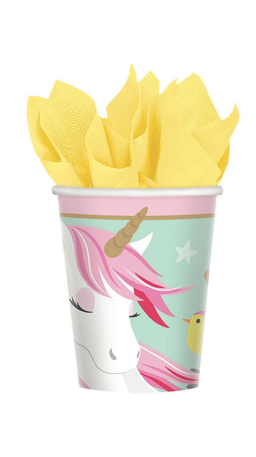 Paper Cups Magical Unicorn