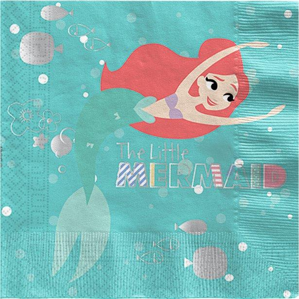 Paper Napkins The Little Mermaid