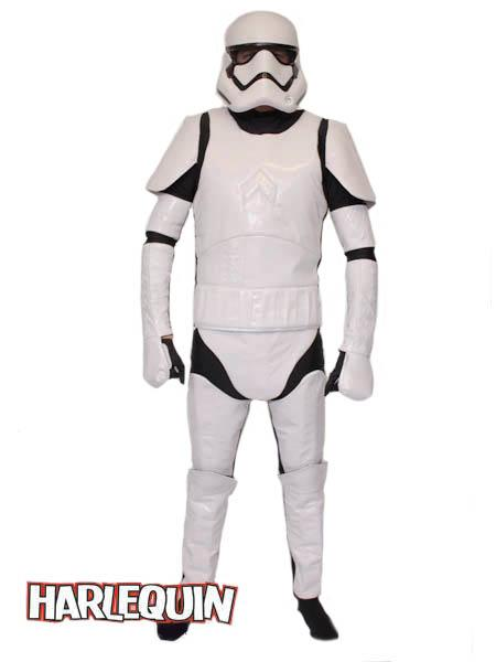 Stormtrooper Style Hire Costume New Order