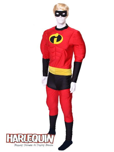 Mr Incredible Style Hire Costume
