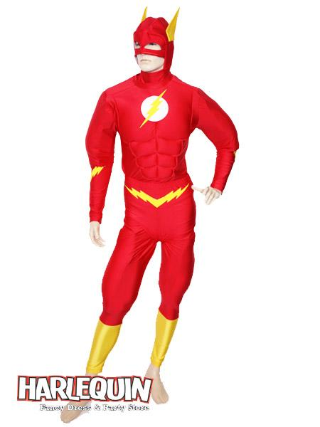The Flash Style Hire Costume