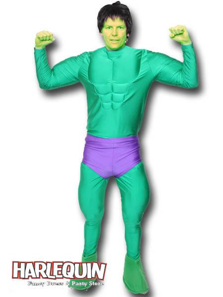 The Hulk Style Hire Costume