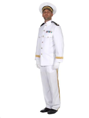 Captain Hire Costume White