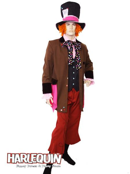 Mad Hatter Hire Costume