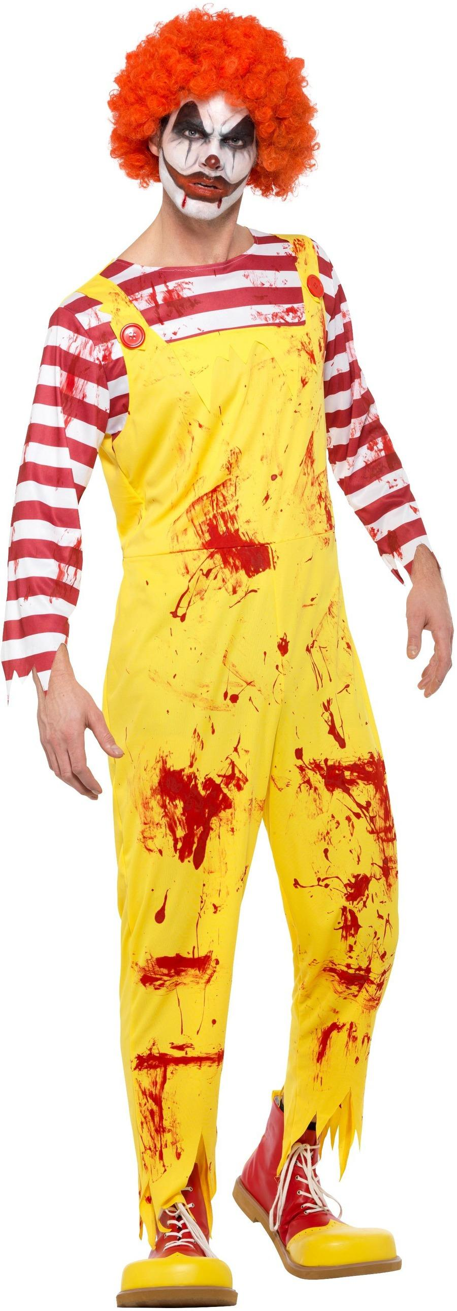 Kreepy Killer Clown Costume