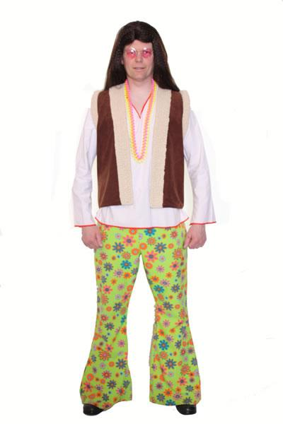 1960s Hippie Man 2 Hire Costume