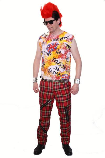 1970s Punk Man Hire Costume Style 2