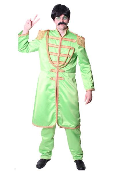 1960s Beatles Green Hire Costume
