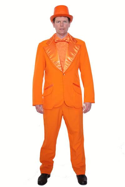 Dumb Tuxedo Orange Hire Costume