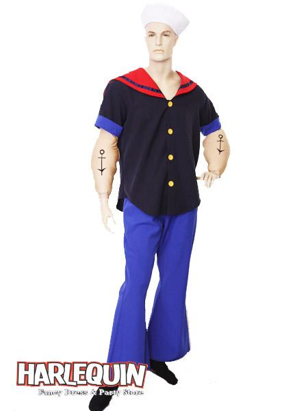 Popeye Hire Costume