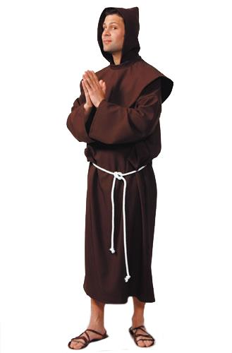 Monk Brown Hire Costume