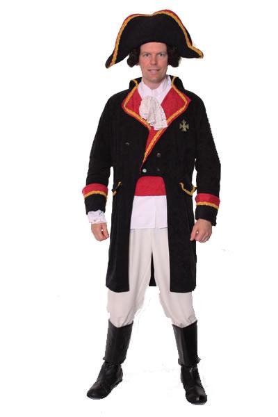 Period Naval 2 Officer Hire Costume