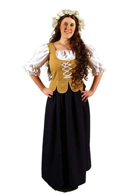 Medieval Wench 3 Hire Costume