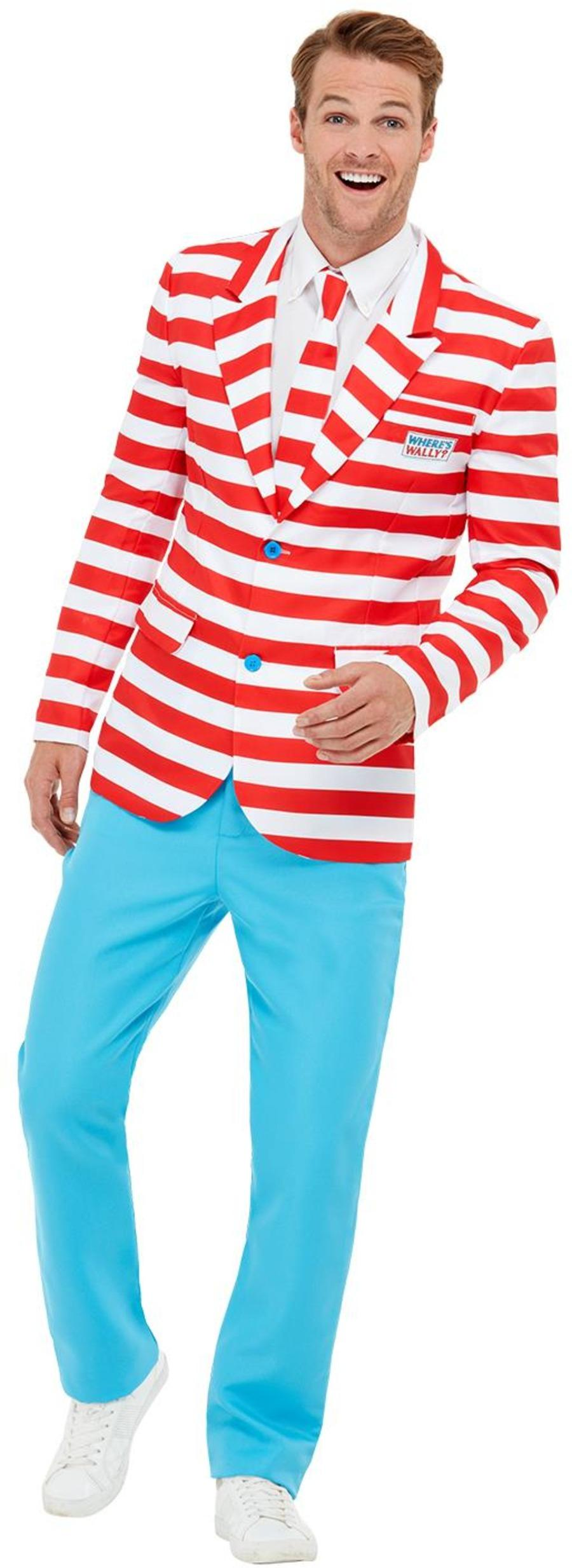 Where's Wally? Stand Out Suit Officially licensed.