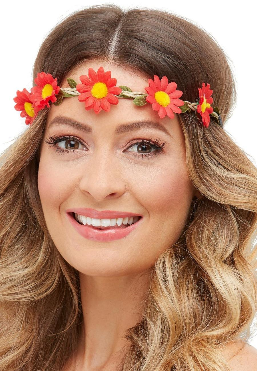 Hawaiian / Hippie Daisy Chain Headbands