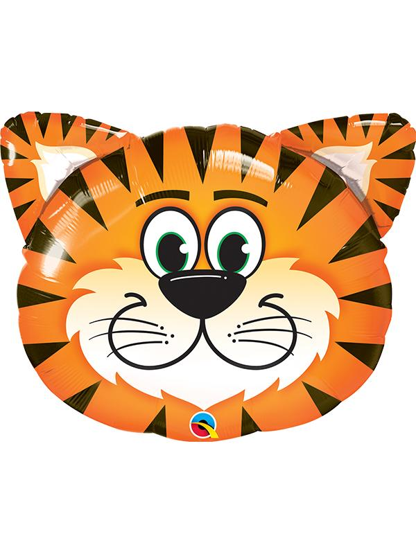 Foil Balloon Tickled Tiger