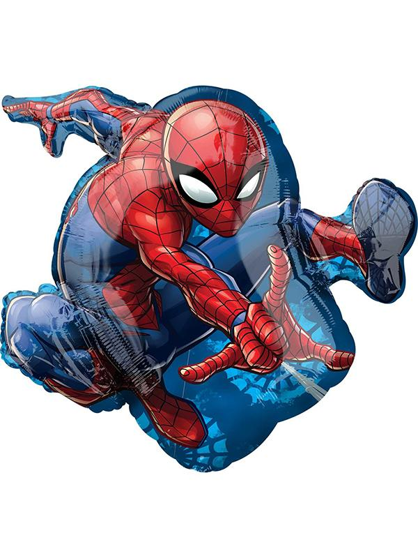 Foil Balloon Spider-Man Action Shape