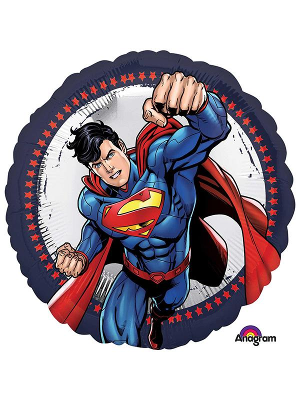 Foil Balloon Superman Action Shape