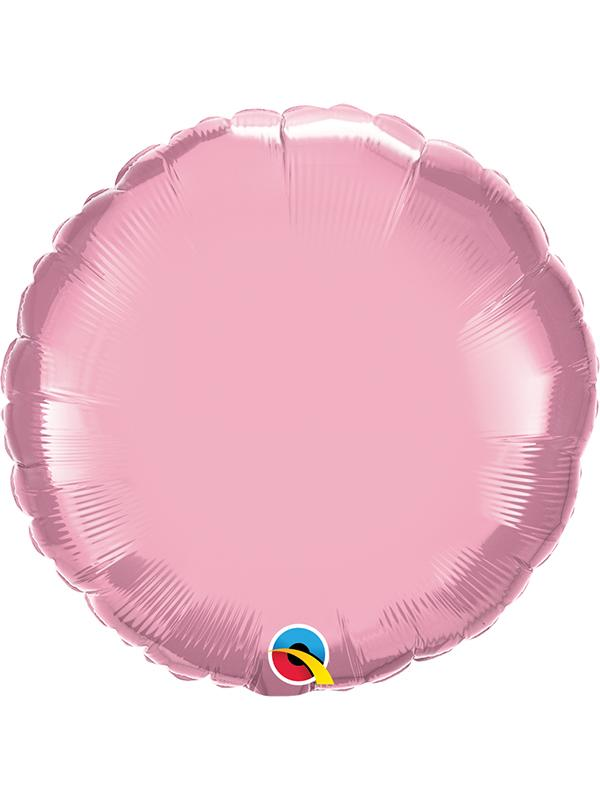 Foil Balloon Round Pearl Light Pink