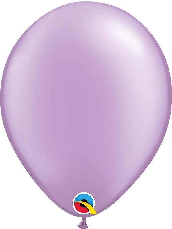 Pearl Latex Balloons Lavender